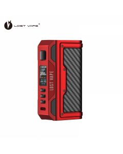 Lost Vape Thelema Quest Mod - Matte Red Carbon Fiber