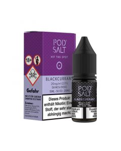 Pod Salt - Blackcurrant 10 ml - 20 mg