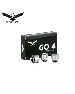 Vapor Gaint Go 4 - Coils Verdampferkopf G8 -Coil 0.15 Ohm QUAD